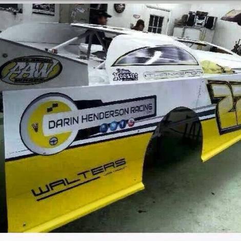 Darin Henderson Racing - Walters Web Design