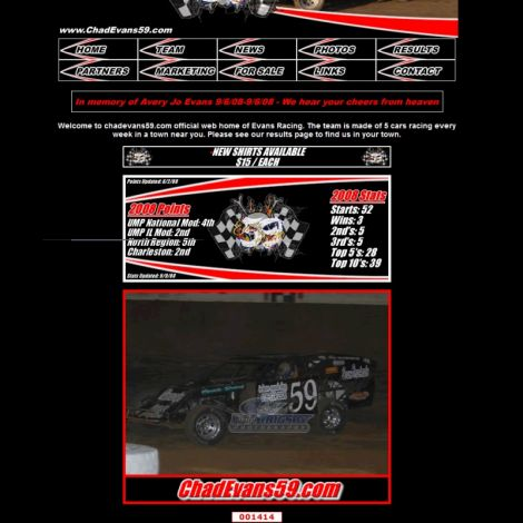 Chad Evans - Walters Web Design ( 2007 Website Designs )