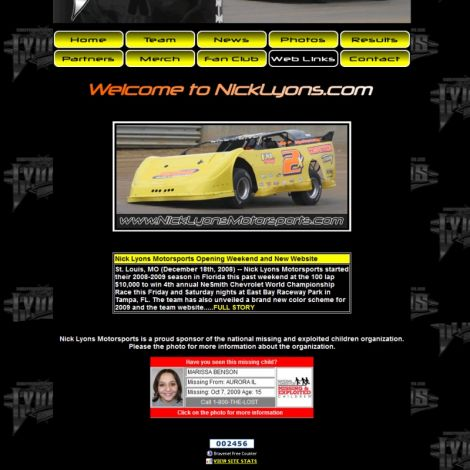 Nick Lyons - Walters Web Design ( 2008 Website Designs )