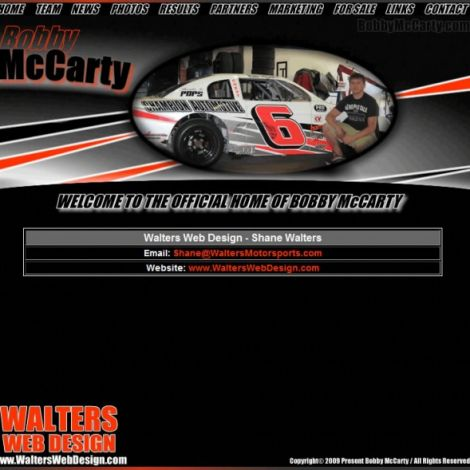 Bobby McCarty - Walters Web Design ( 2009 Website Designs )