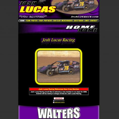 Josh Lucas - Walters Web Design ( 2009 Website Designs )
