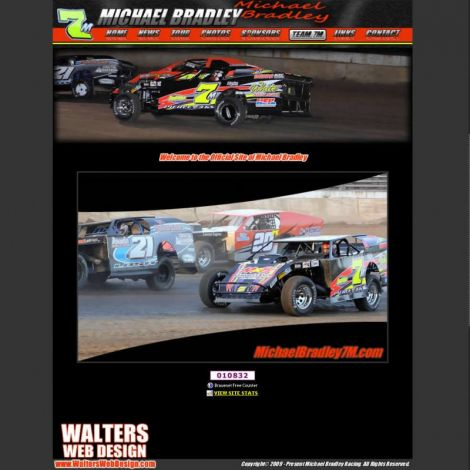 Michael Bradley - Walters Web Design ( 2009 Website Designs )