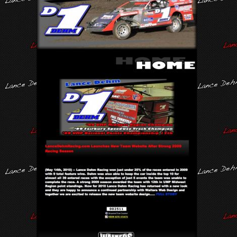 Lance Dehm - Walters Web Design ( 2010 Website Designs )