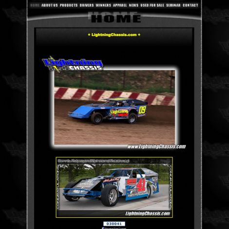 Lightning Chassis - Walters Web Design ( 2010 Website Designs )