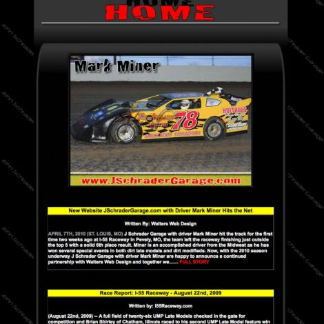 Mark Miner - Walters Web Design ( 2010 Website Designs )