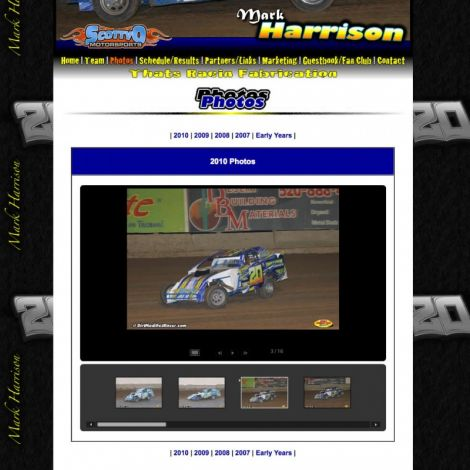 Scotty O Motorsports - Walters Web Design ( 2010 Website Designs )