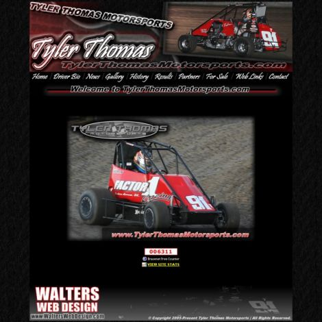 Tyler Thomas - Walters Web Design ( 2010 Website Designs )