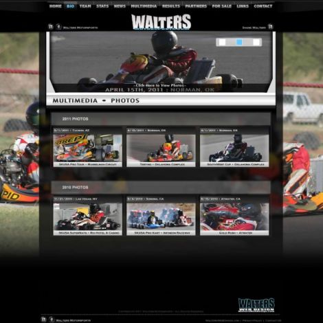 Shane Walters - Walters Web Design ( 2011 Website Designs )