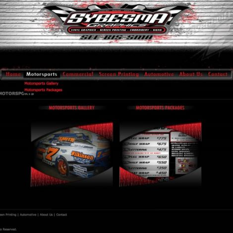 Sybesma Graphics - Walters Web Design ( 2011 Website Designs )