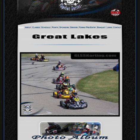WKA Great Lakes Sprint Series - Walters Web Design ( 2011 Website Designs )