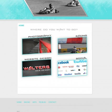Shane Walters - Walters Web Design ( 2012 Website Designs )