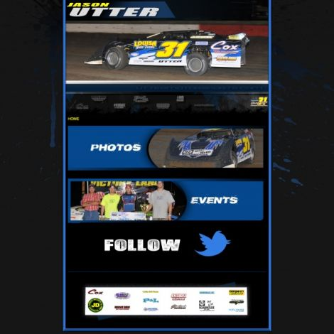 Utter Motorsports - Walters Web Design ( 2012 Website Designs )