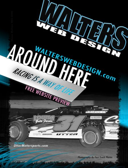 2012 Walters Web Design Featured in DIRT Late Late Model Magazine