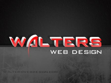 2012 Walters Web Design Red Logo Wallpaper