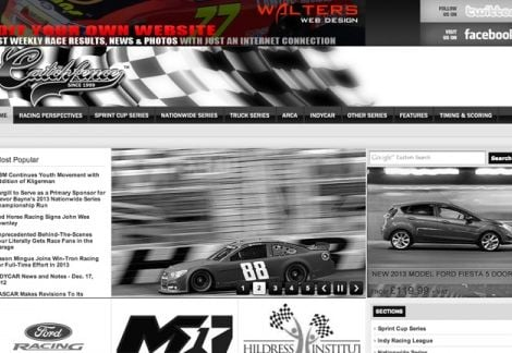 2013 Walters Web Design Advertisement Featured on CatchFence ( Advertising Portfolio )
