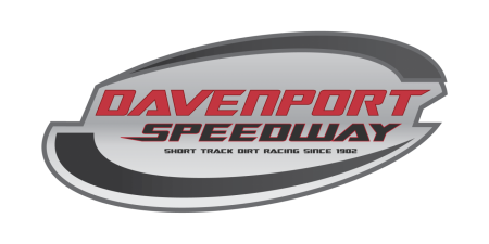 Davenport Speedway Logo Design Walters Web Design