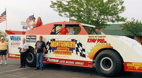 2007: Montgomery County Speedway Monster LM. Our Logo is on both the left and right side fenders.