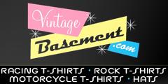 Vintage Basement Advertising Banner ( Advertising Portfolio )