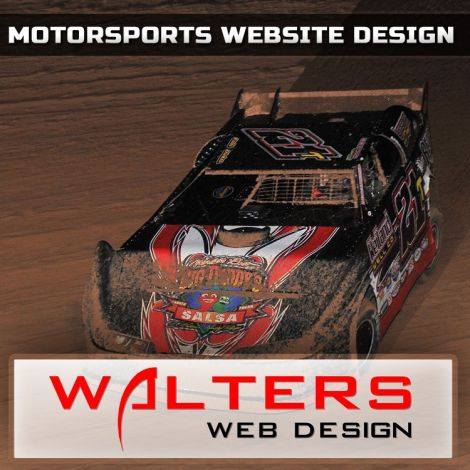2013 Walters Web Design Motorsports Website Design ( Advertising Portfolio )