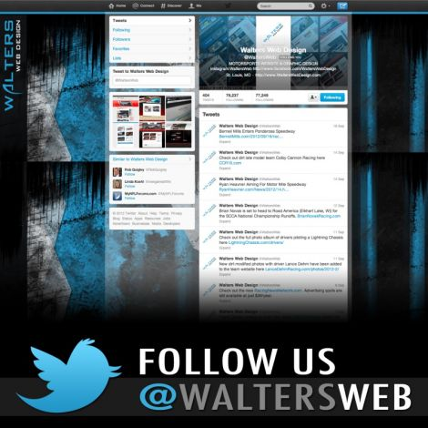 2012 Walters Web Design Twitter ( Graphic Design Portfolio )