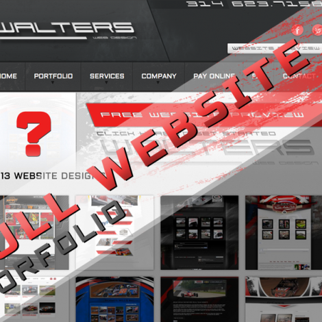 Walters Web Design Website Portfolio ( Graphic Design Portfolio )