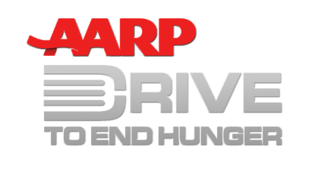 AARP Drive To End Hunger Logo - Walters Web Design