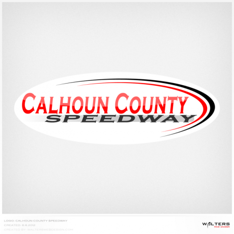 Calhoun County Speedway - Walters Web Design ( 2011 Logo Designs )
