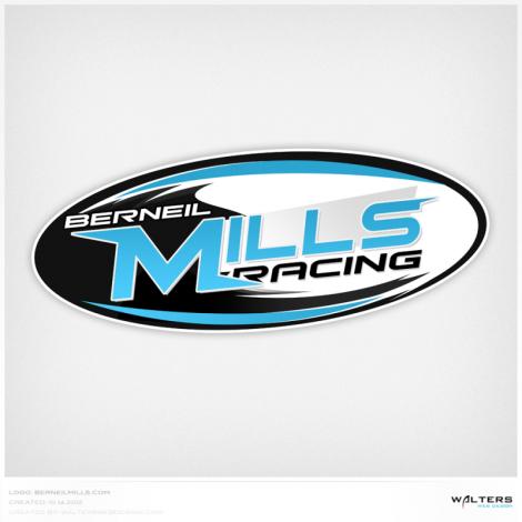 Berneil Mills Racing Logo - Walters Web Design ( 2012 Logo Designs )
