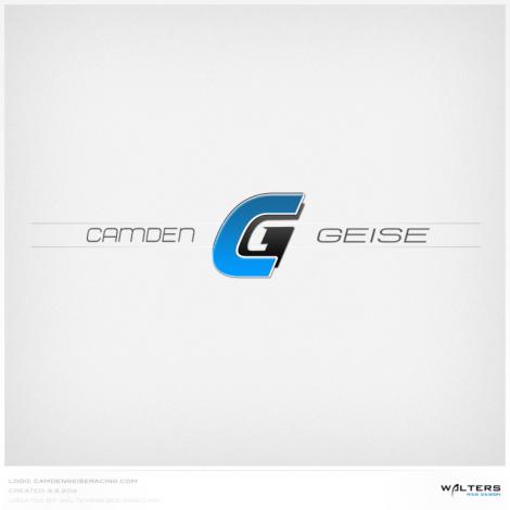 Camden Geise Racing Logo - Walters Web Design ( 2012 Logo Designs )