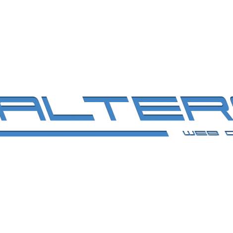 Walters Web Design Blue Logo