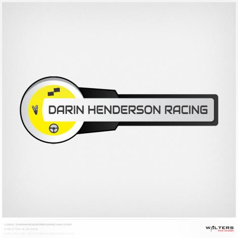 Darin Henderson Racing Logo - Walters Web Design ( 2013 Logo Designs )