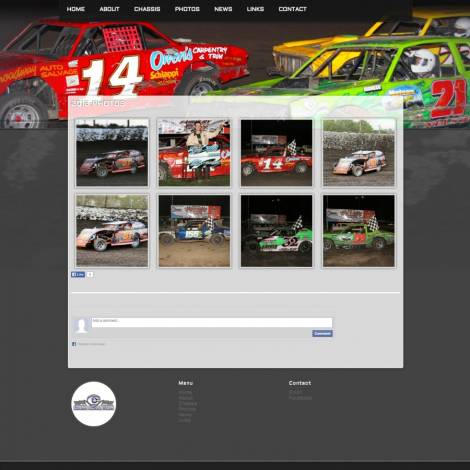 C3 Race Cars Website ( 2014 Website Designs )