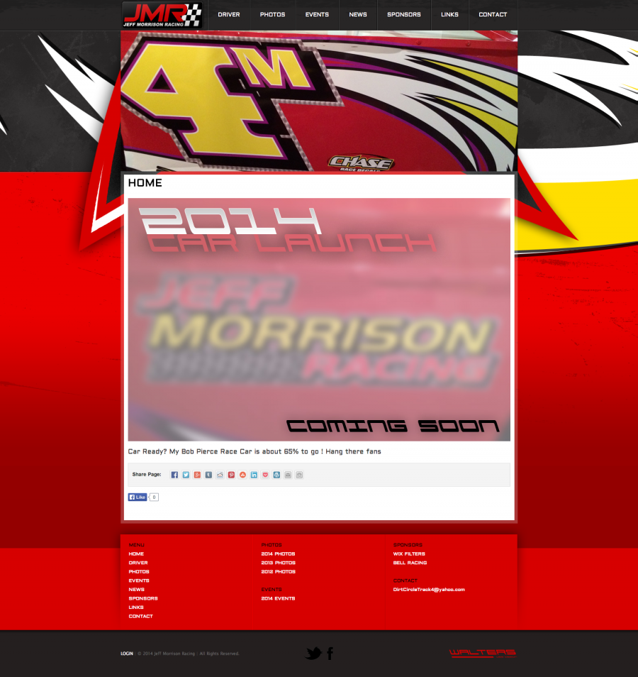 DIRT MODIFIED: Deaf Racing Driver Jeff Morrison New Website
