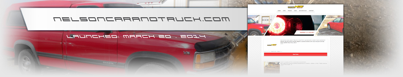 Nelson Car and Truck Center - Walters Web Design