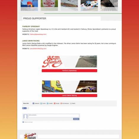 Schaeffer's Specialized Lubricants Website Design ( Walters Web Design )