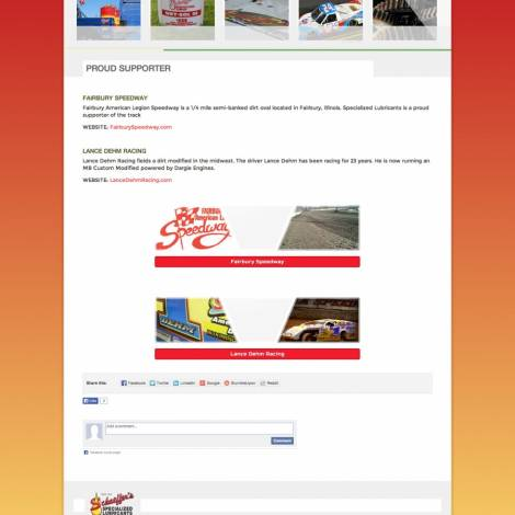 Schaeffer's Specialized Lubricants Website Design ( Walters Web Design )