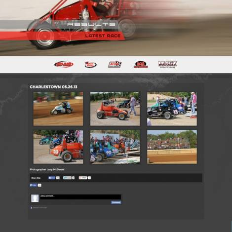 UMRA TQ Midget Series Website ( Walters Web Design )