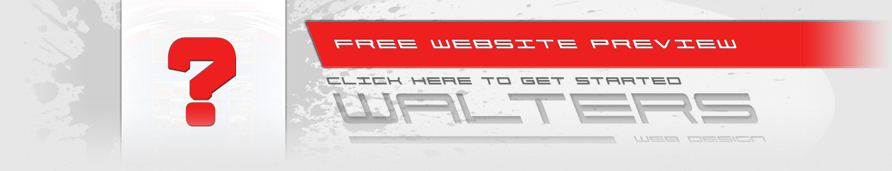 Walters Web Design Free Website Preview