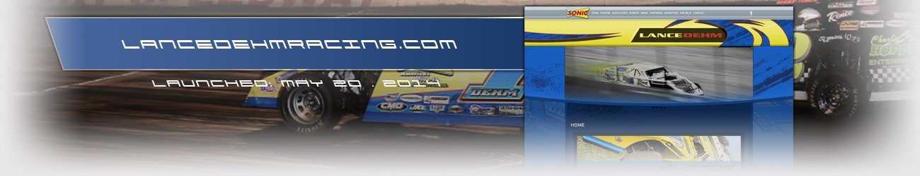 Walters Web Design Lance Dehm Dirt Modified Website