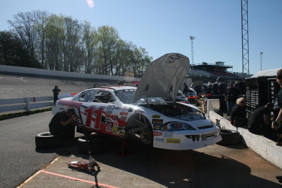 Ryan Heavner Reaching For NASCAR