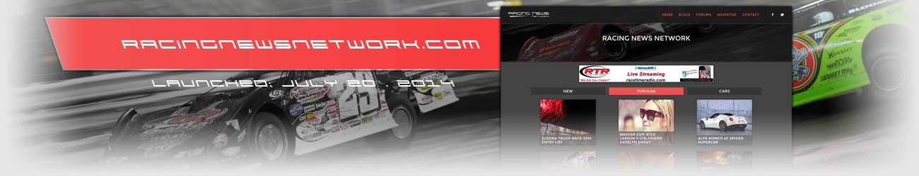 Walters Web Design Racing News Website