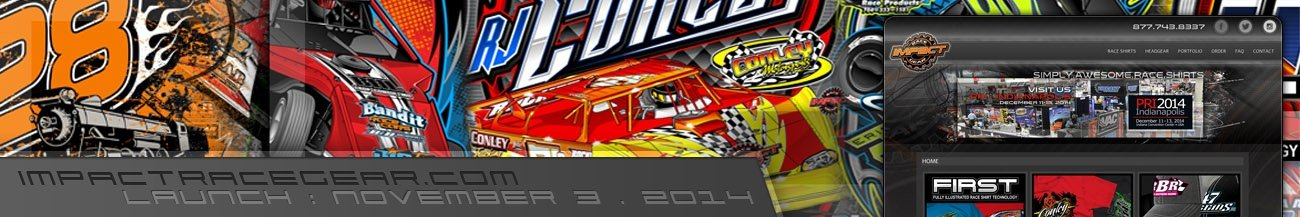 Impact Race Gear Website Walters Web Design