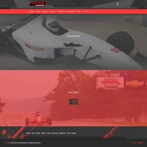 2015 Brian Novak Racing - Walters Web Design