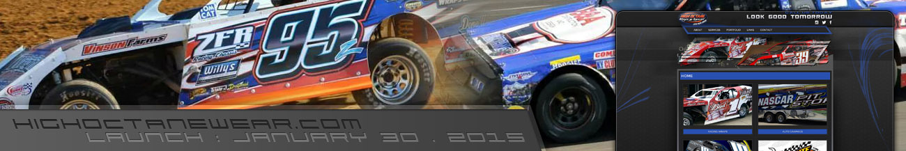 High Octane Racing Graphics Website Walters Web Design