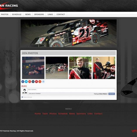 John Freeman Racing IMCA Southern Sport Mod Driver Website Launched