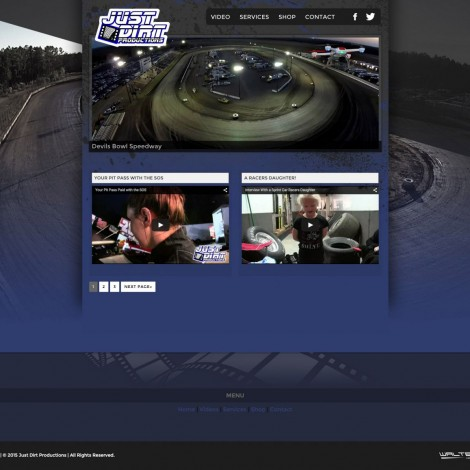 Just Dirt Productions - Walters Web Design