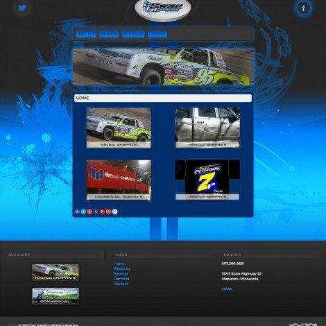 Snap Graphics Website Design - Walters Web Design