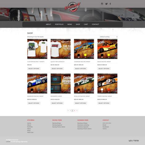 Synergy Signworks Website - 2015 Walters Web Design