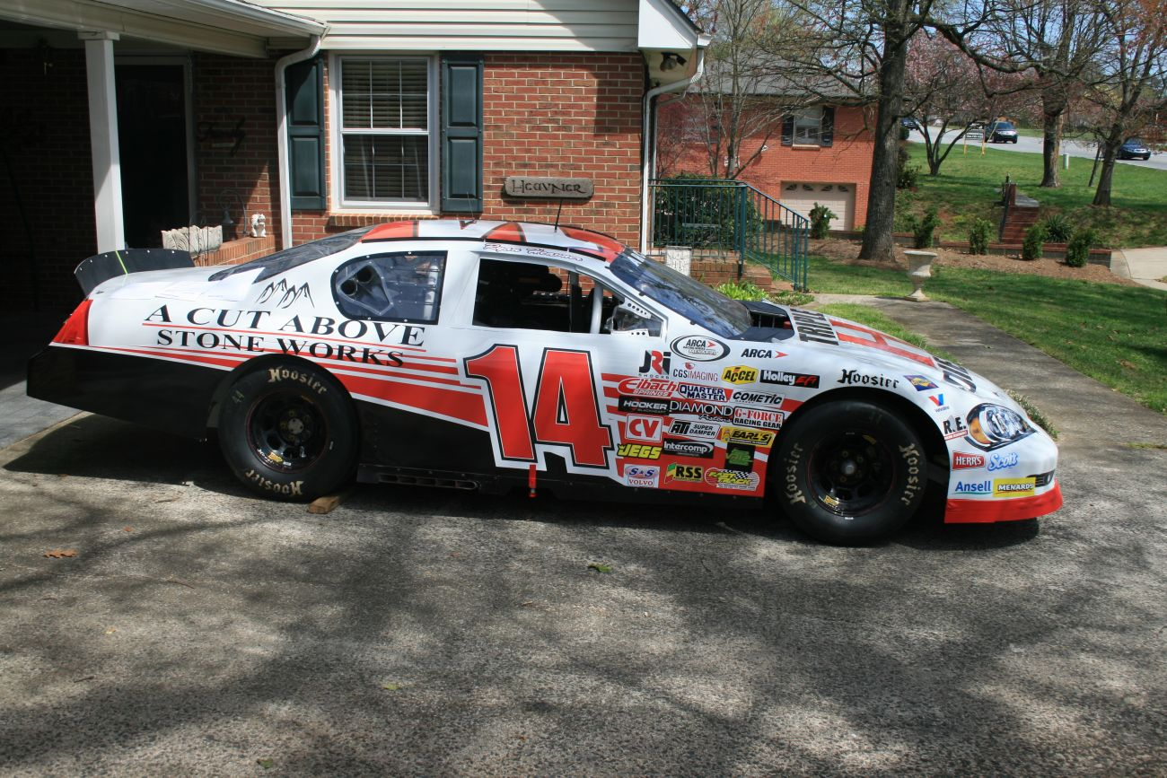Ryan Heavner Racing ARCA 200 Event Car