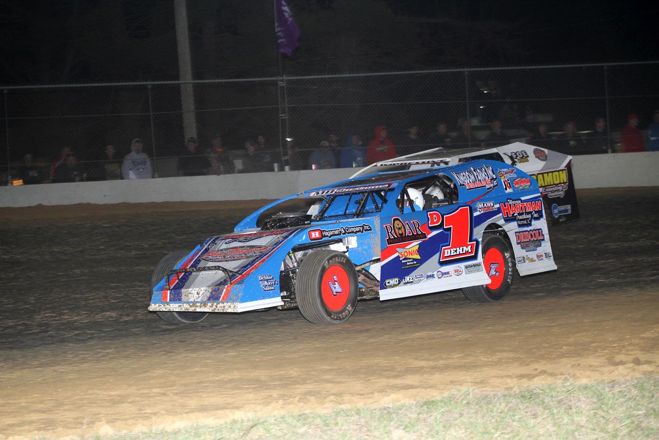 Lance Dehm Dirt Modified Driver Web Design - Walters